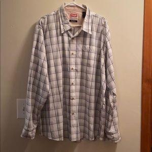 Wrangler Men's Plaid Shirt